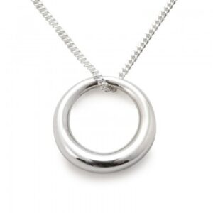 Tales from the Earth - sterling Silver circle of life necklace
