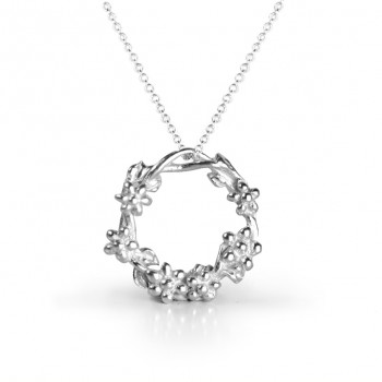 Tales from the Earth - sterling Silver inner goddess necklace