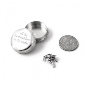 Tales from the Earth - sterling silver all the luck and love in the world box