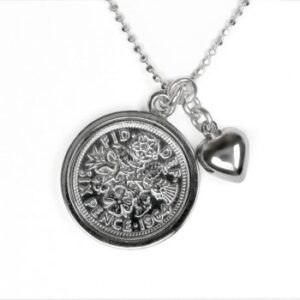 Tales from the Earth - sterling Silver all the luck and love in the world necklace