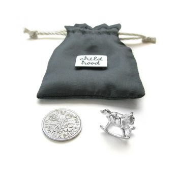Tales from the Earth - sterling silver childhood pouch