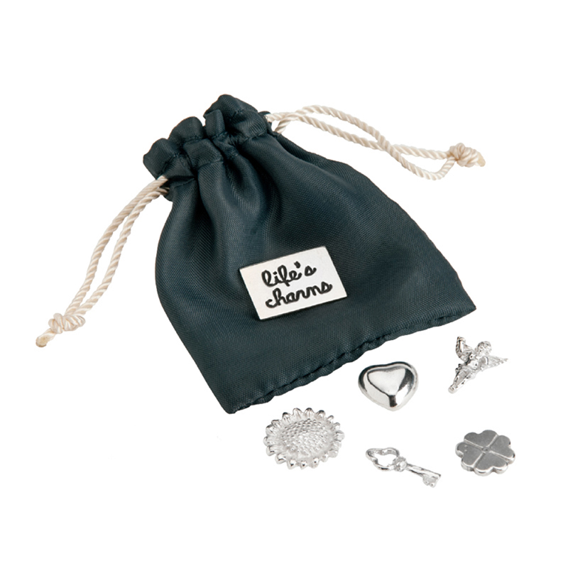 Tales from the Earth - silver life's charms pouch