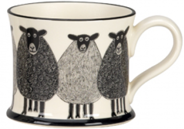 moorland pottery - sheep mug