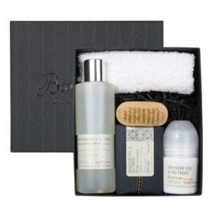Bath House - Spanish Fig & Nutmeg Shower Set