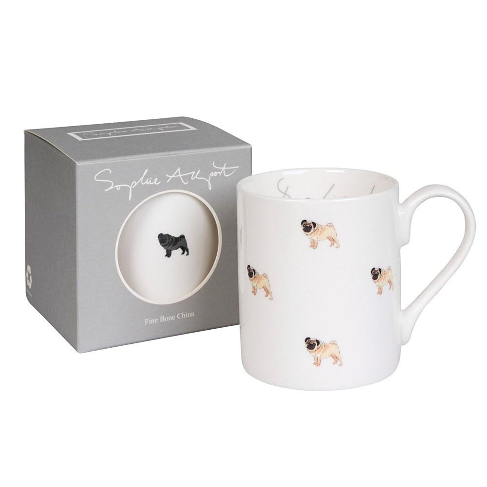 Sophie Allport Standard Pug Life Mug