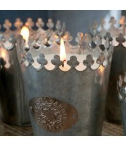 St Eval 'Fig Tree' Crowned Candle Large