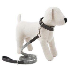 Mutts&Hounds - 'Stoneham Tweed Dog Lead' Slim