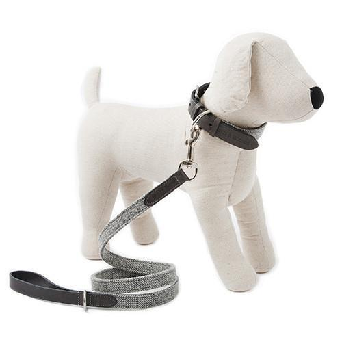 Mutts&Hounds - 'Stoneham Tweed Dog Lead' Slim