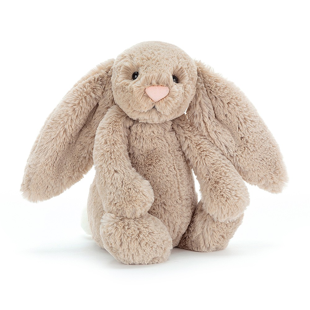 Jelly Cat Beige Bashful Bunny Large H36cm