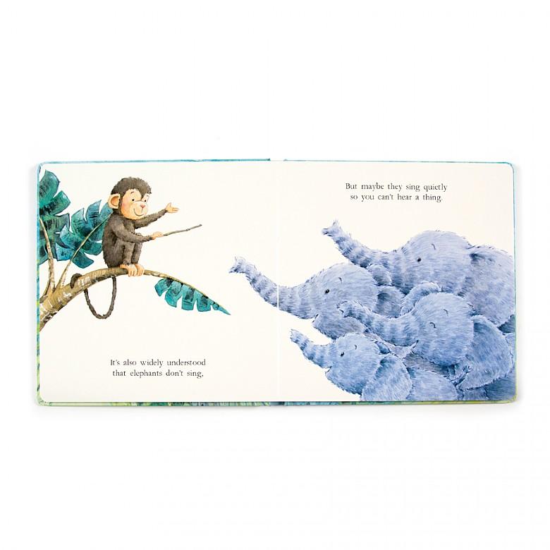 Jellycat-Elephants can't fly book
