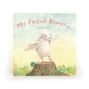 Jellycat-My friend Bunny Book