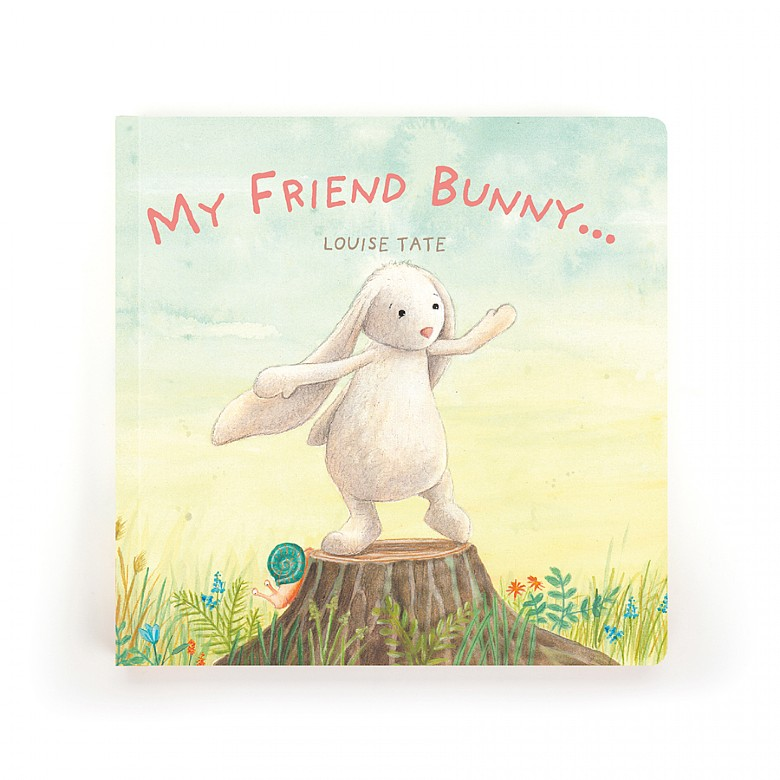 Jellycat-My friend Bunny Book