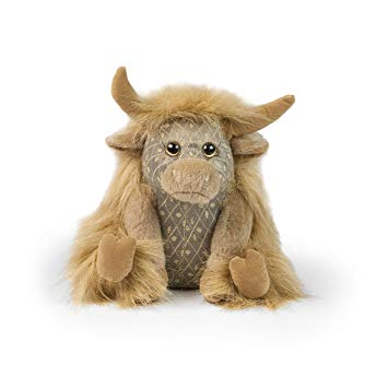 Dora Designs Angus Highland Cow Paper Weight