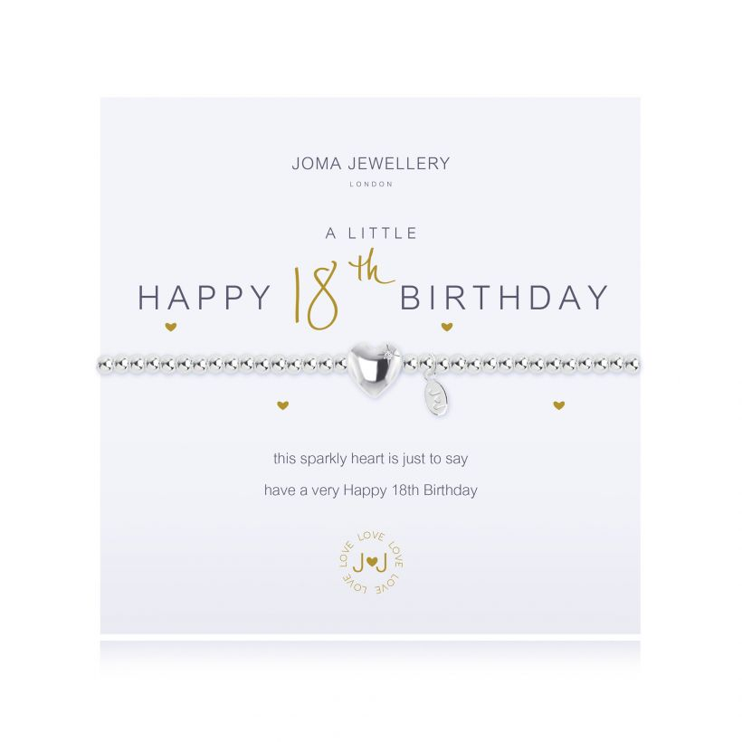 Joma- A Little 'Happy 18th Birthday' Bracelet