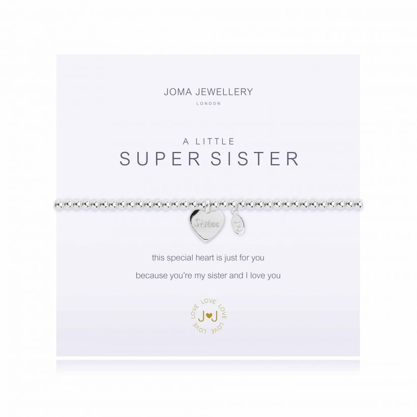 Joma- A Little 'Super Sister' Bracelet