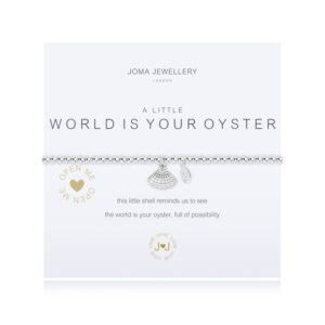 Joma- A Little 'The World Is Your Oyster' Bracelet