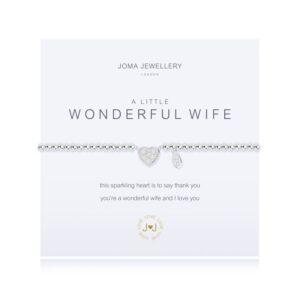Joma- A Little 'Wonderful Wife' Bracelet