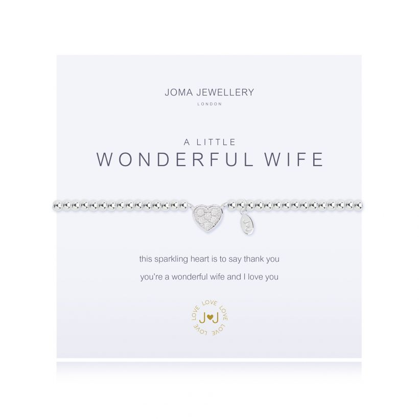 Joma- A Little 'Wonderful Wife' Bracelet