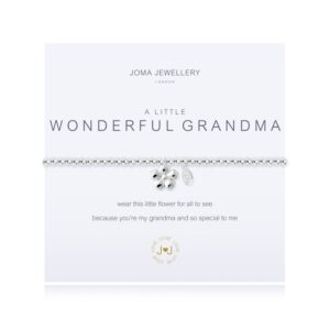 Joma- A Little 'Wonderful Grandma' Bracelet