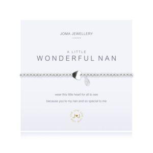 Joma- A Little 'Wonderful Nan' Bracelet