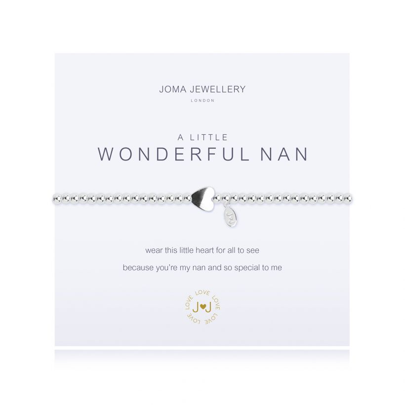 Joma- A Little 'Wonderful Nan' Bracelet