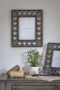 "Retreat Wooden Brown Cutout Frame 10""x 8"""