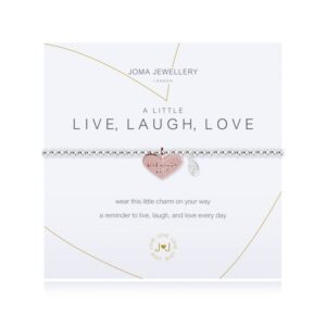 Joma- A Little 'Live Laugh Love' Bracelet