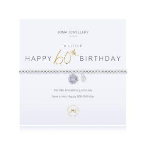 Joma- A Little 'Happy 60th Birthday' Bracelet