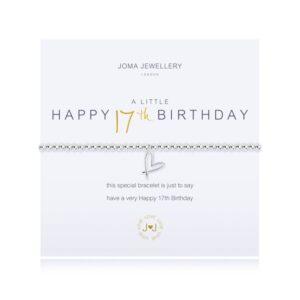 Joma- A Little 'Happy 17th Birthday' Bracelet