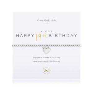 Joma- A Little 'Happy 19th Birthday' Bracelet