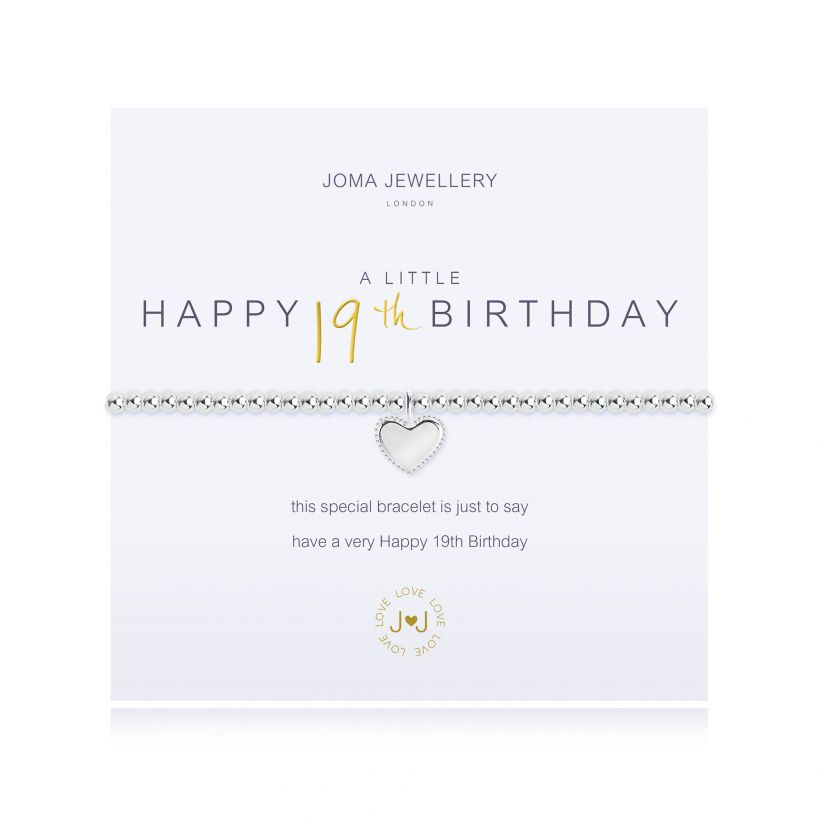 Joma- A Little 'Happy 19th Birthday' Bracelet