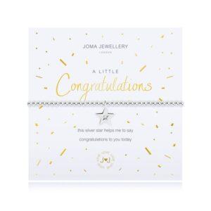 Joma- A Little 'Congratulations' Bracelet
