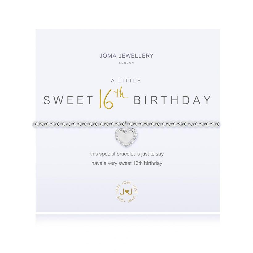 Joma- A Little 'Happy 16th Birthday' Bracelet