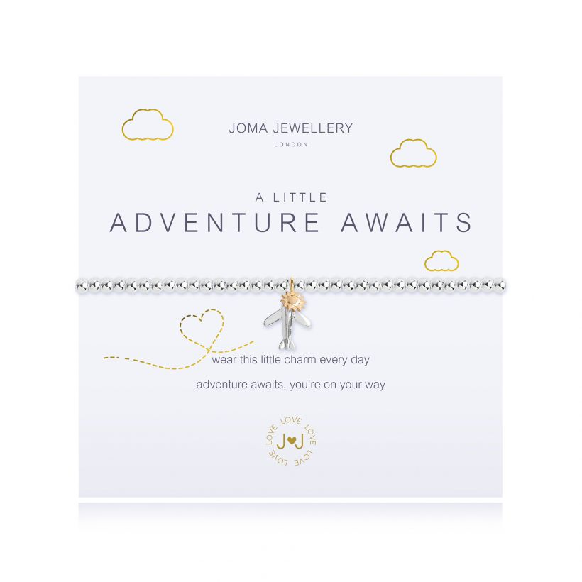 Joma- A Little 'Adventure Awaits' Bracelet