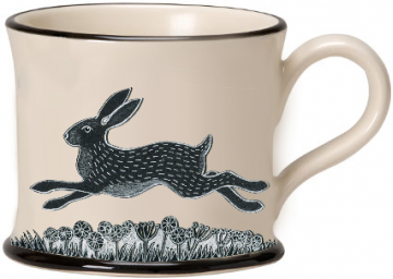 moorland pottery - hare mug
