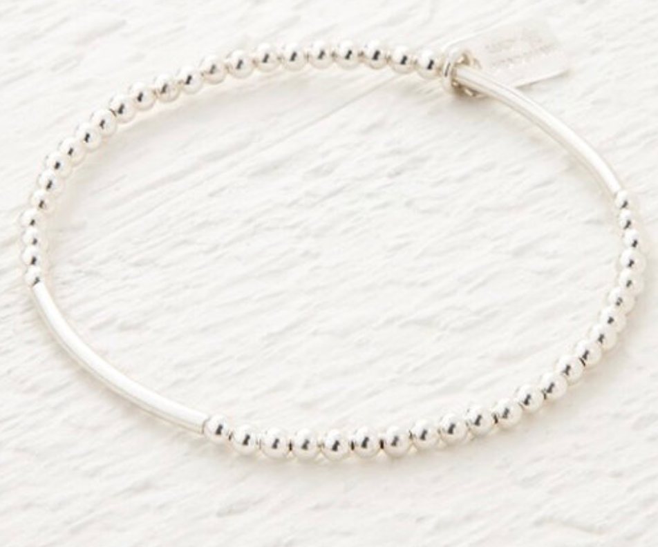 Lucy Bradshaw Saffron Silver Bracelet