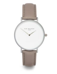 Elie Beaumont-Hoxton Light Grey Watch