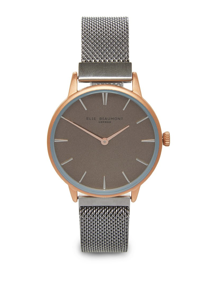 Elie Beaumont Holborn Magnetic Rose/Silver Watch