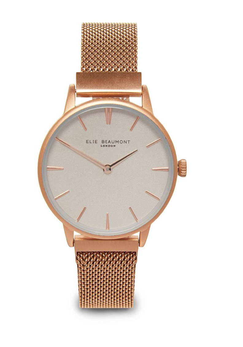 Elie Beaumont Holborn Magnetic Rose Gold Watch