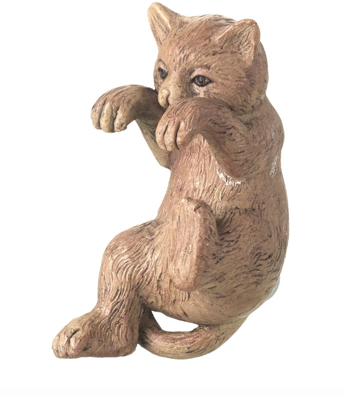 Parlane Pothanger Cat Brown Height 10cm