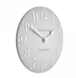 Thomas Kent Clocks | Arabic Dove Grey Small Wall Clock