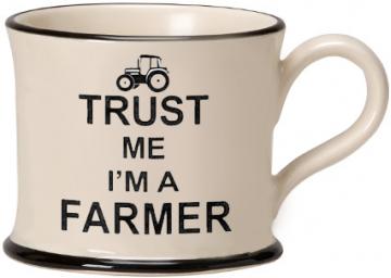 moorland pottery - trust me I'm a farmer mug
