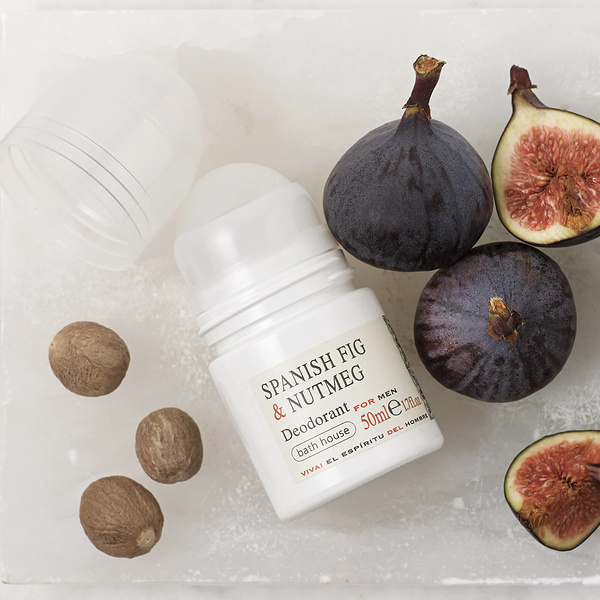 Bath House - Spanish Fig & Nutmeg Deodorant 50ml