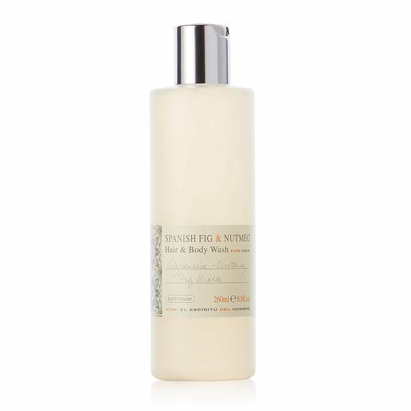 Bath House - Spanish Fig & Nutmeg Hair & Body Wash 260ml