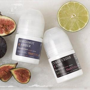 Bath House - Bergamot & Amber Deodorant 50ml