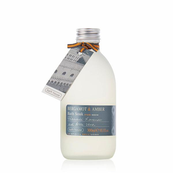 Bath House - Bergamot & Amber Bath Soak 300ml