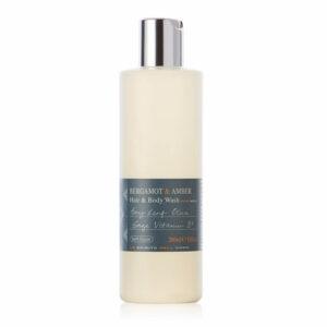 Bath House - Bergamot & Amber Hair & Body Wash 260ml