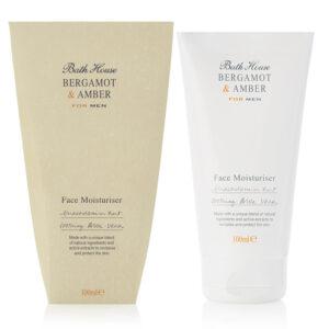 Bath House - Bergamot & Amber Face Moisturiser 100ml
