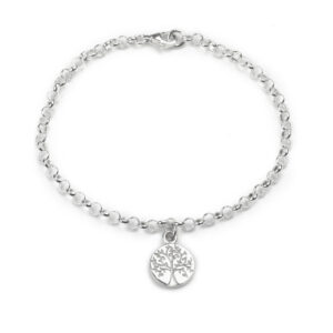 Tales from the Earth - Silver tree of life bracelet