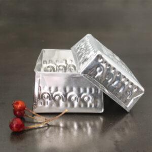 Pressed Metal Presentation Box
